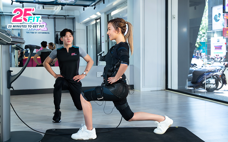 Giảm mỡ nhanh và hiệu quả hơn với EMS Training