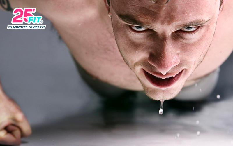 Vì sao khi tập luyện lại đổ mồ hôi?