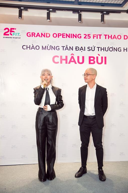 Chau Bui hao hung chia se ly do hop tac cung 25 FIT