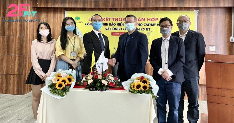 25 FIT ký thỏa thuận hợp tác cùng Cathay Life Việt Nam