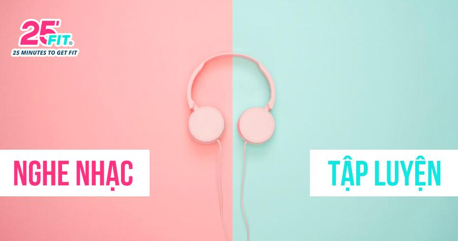 4 lợi ích của việc nghe nhạc khi tập luyện