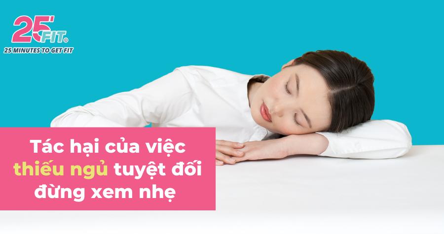 Thiếu ngủ tàn phá sức khoẻ của bạn thế nào?