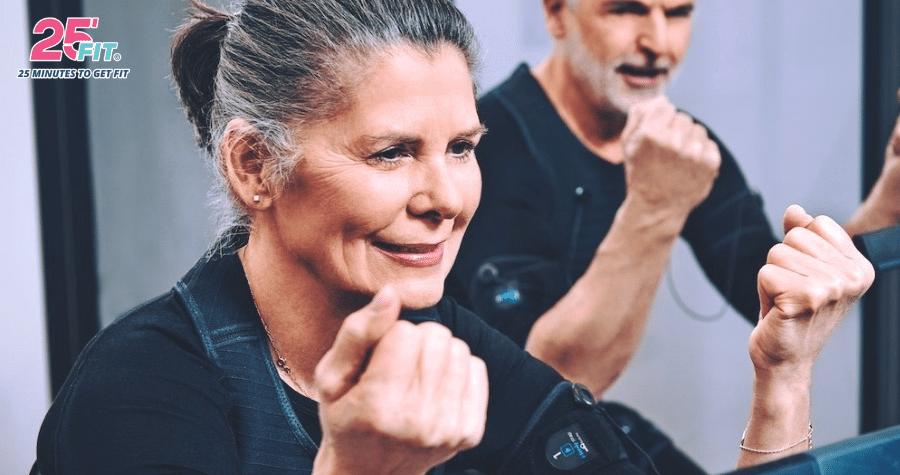 Người lớn tuổi có tập EMS Training được không?